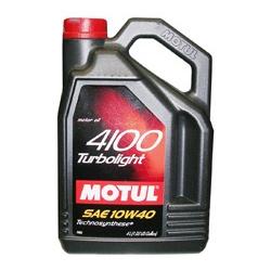 Моторное масло Motul 4100 Turbolight 10w40 60л - фото 8