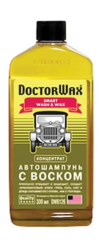Автошампунь з воском концентрат Doctor Wax 300мл