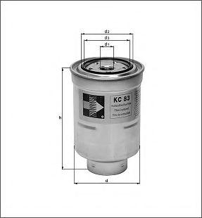 Фильтр топливный mahle подбор по марке