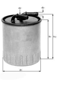 Фильтр топливный устанавливается на