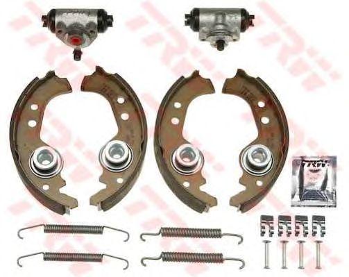 Тормозные колодки TRW BK1726 Brake Kit