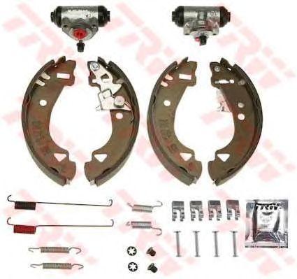 Тормозные колодки TRW BK1737 Brake Kit