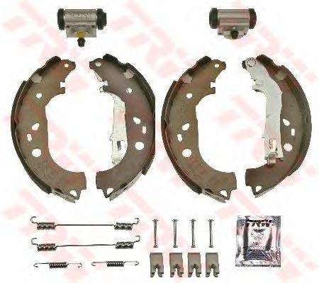 Тормозные колодки TRW BK1779 Brake Kit