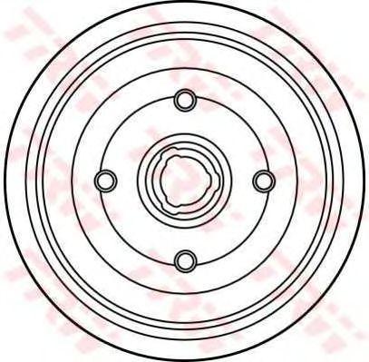 Тормозной барабан TRW DB4161