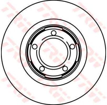 Тормозной диск TRW DF1733
