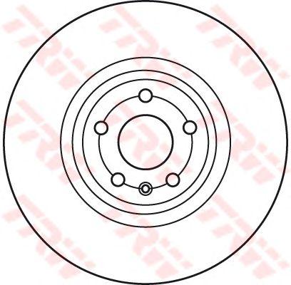Тормозной диск TRW DF6041S