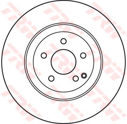 Тормозной диск TRW DF7351S