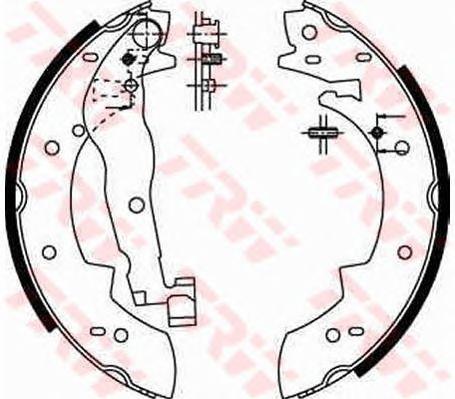 Тормозные колодки TRW GS6251