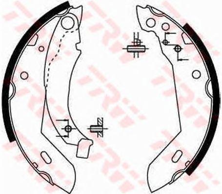 Тормозные колодки TRW GS8158