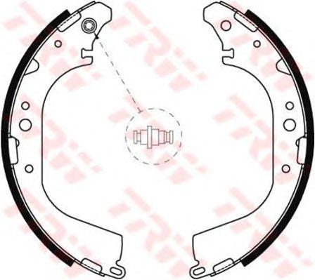 Тормозные колодки TRW GS8592