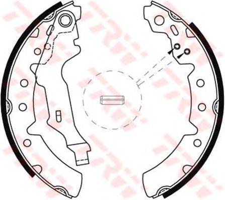 Тормозные колодки TRW GS8603
