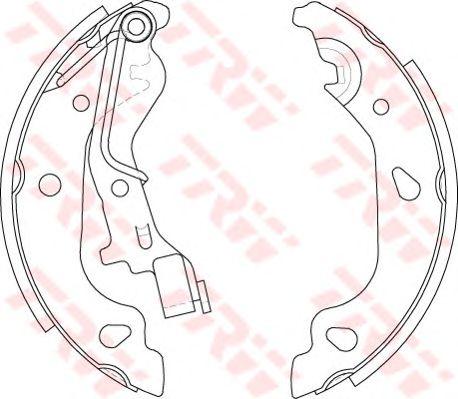 Тормозные колодки TRW GS8687