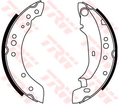 Тормозные колодки TRW GS8771