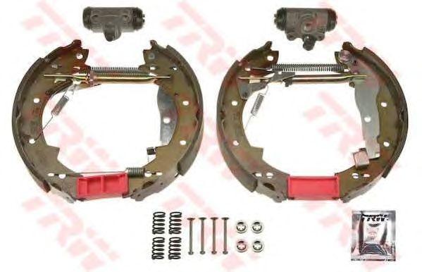 Тормозные колодки TRW GSK1552