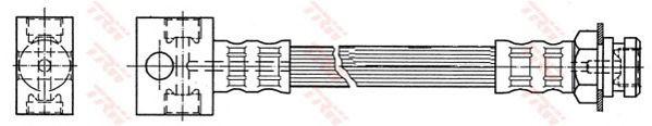 Тормозной шланг TRW PHA389