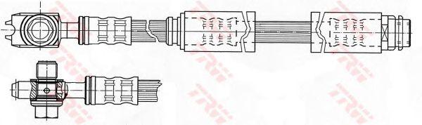 Тормозной шланг TRW PHD946