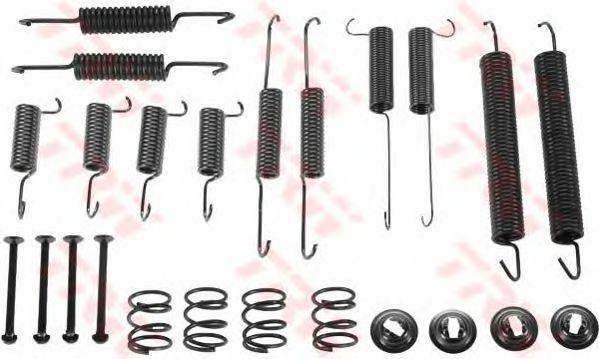 Монтажный комплект тормозных колодок TRW SFK237
