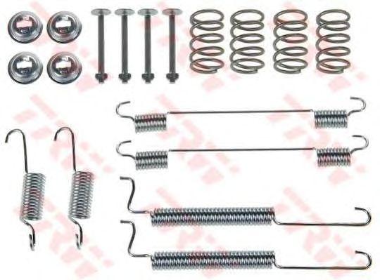 Монтажный комплект тормозных колодок TRW SFK329