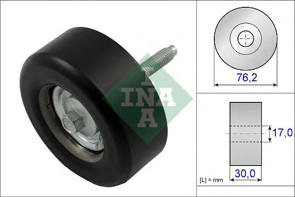 Направляющий / паразитный ролик  поликлинового ремня INA 532 0651 10
