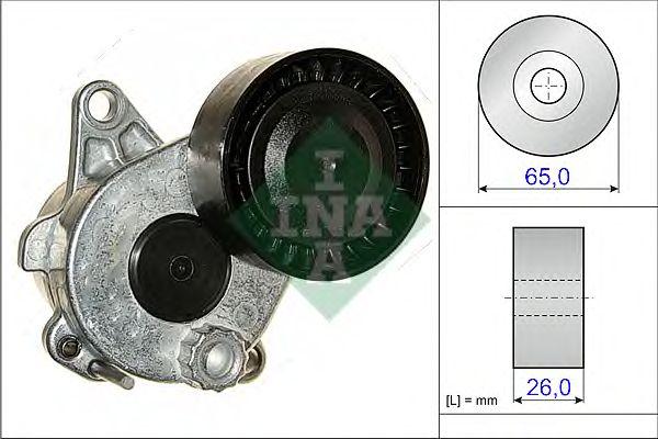 Натяжитель поликлинового ремня INA 534 0336 10