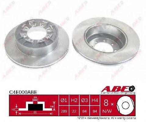 Тормозной диск ABE C4E000ABE