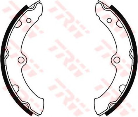 Тормозные колодки TRW GS8464