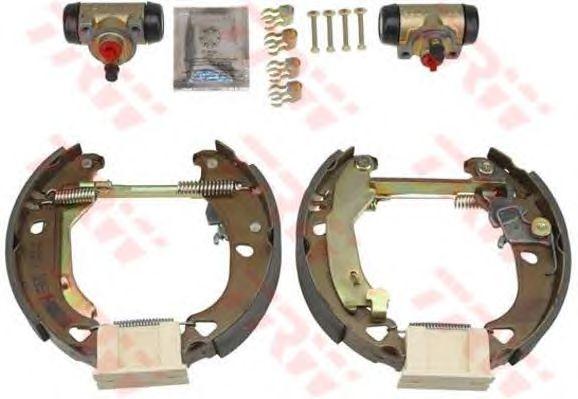 Тормозные колодки TRW GSK1734