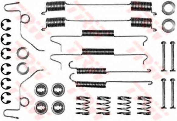 Монтажный комплект тормозных колодок TRW SFK112