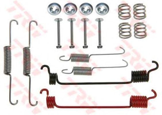 Монтажный комплект тормозных колодок TRW SFK228