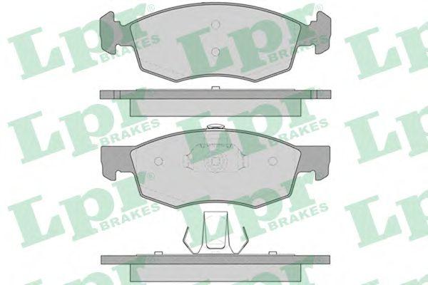 Тормозные колодки LPR 05P756