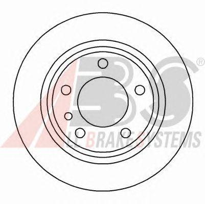 Тормозной диск A.B.S. 15868