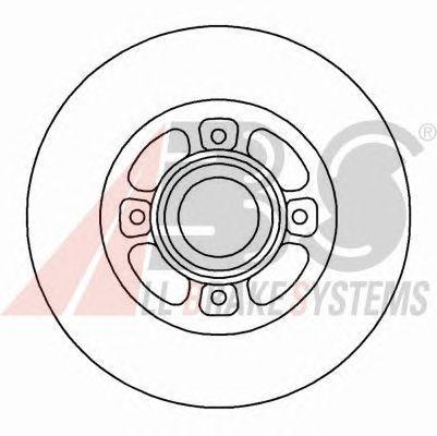 Тормозной диск A.B.S. 16151
