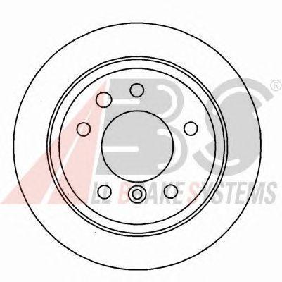 Тормозной диск A.B.S. 16155
