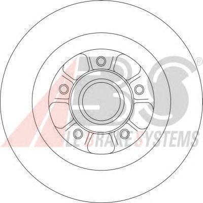 Тормозной диск A.B.S. 17155