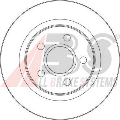 Тормозной диск A.B.S. 17418