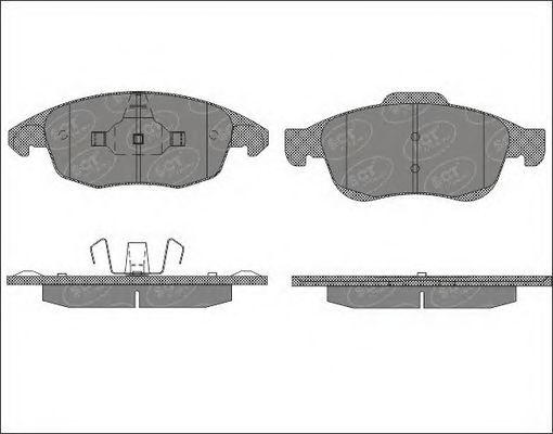 Тормозные колодки SCT Germany SP 497