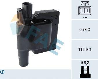 Катушка зажигания FAE 80286