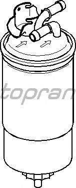 Топливный фильтр TOPRAN 110 766