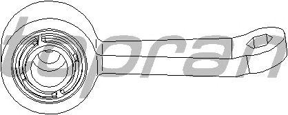 Тяга / стойка стабилизатора TOPRAN 400 620