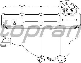 Расширительный бачок TOPRAN 401 007