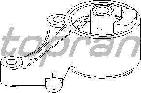 Подушка двигателя TOPRAN 206 160