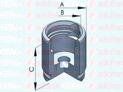 Поршень тормозного суппорта AUTOFREN SEINSA D025258