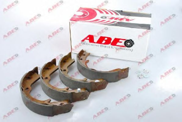 Тормозные колодки ручника ABE C07012ABE