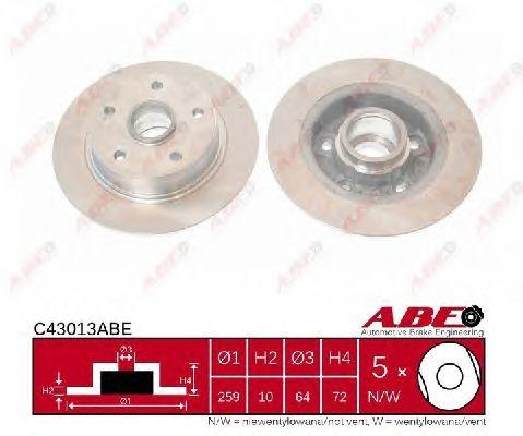 Тормозной диск ABE C43013ABE