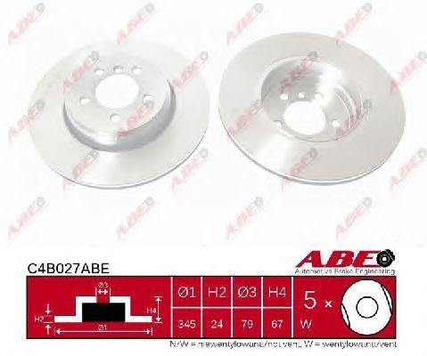 Тормозной диск ABE C4B027ABE