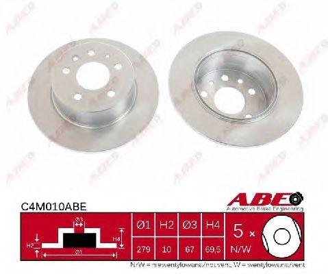 Тормозной диск ABE C4M010ABE