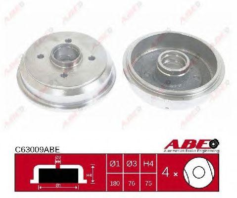 Тормозной барабан ABE C63009ABE