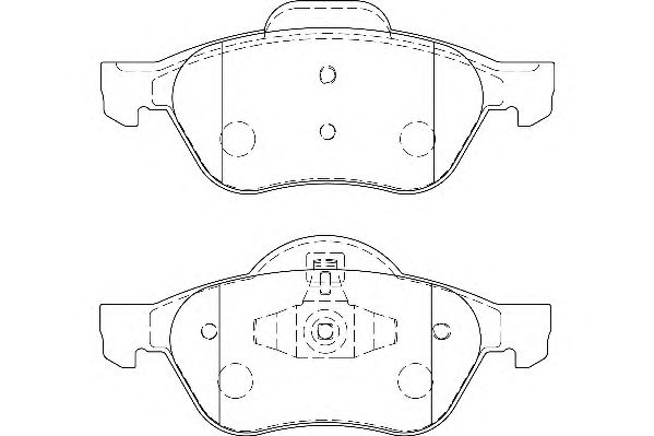 Тормозные колодки WAGNER WBP24535A