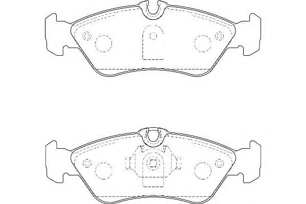 Тормозные колодки WAGNER WBP21592A