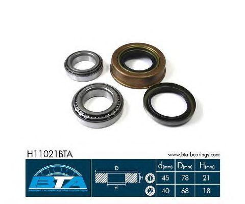 Ступичный подшипник BTA H11021BTA